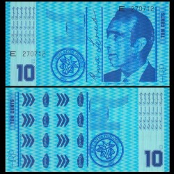 HUTT RIVER / AUSTRALIE - Billet de 10 Cents - 1970