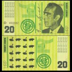 HUTT RIVER / AUSTRALIE - Billet de 20 Cents - 1970