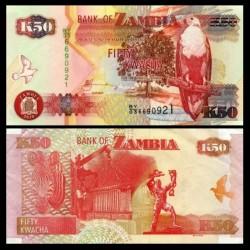 ZAMBIE - Billet de 50 Kwacha - 2010
