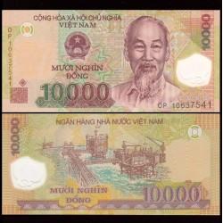 VIETNAM - Billet de 10000 Dong - Polymer - 2010