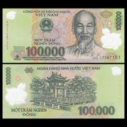 VIETNAM - Billet de 100000 Dong - Polymer - 2017