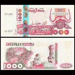 ALGERIE - Billet de 1000 Dinars - Gravures rupestres de tassili - 10.06.1998 P142b2