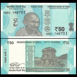 INDE - Billet de 50 Roupies - 2017