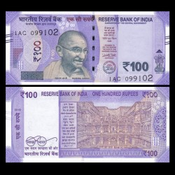INDE - Billet de 100 Roupies - 2018