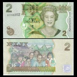 FIDJI - Billet de 2 DOLLARS - 2011