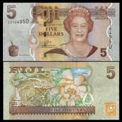 FIDJI - Billet de 5 DOLLARS - 2011