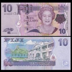 FIDJI - Billet de 10 DOLLARS - 2011