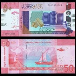 SOUDAN - BILLET de 50 Livres Soudanaise - 2018