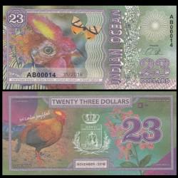 OCEAN INDIEN / INDIAN OCEAN - Billet de 23 DOLLARS - Coq de Lafayette - 2018 0023