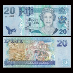 FIDJI - Billet de 20 DOLLARS - 2007 P112a