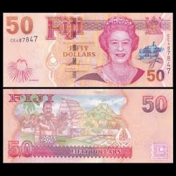 FIDJI - Billet de 50 DOLLARS - 2007
