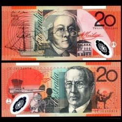 AUSTRALIE - Billet de 20 DOLLARS 2013 - Polymer