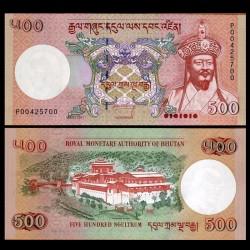 BHOUTAN - Billet de 500 Ngultrum - 2011