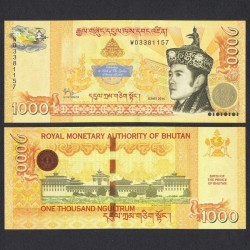 BHOUTAN - Billet de 1000 Ngultrum - 2016