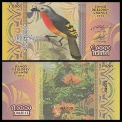 ELOBEY GRANDE - Billet de 1000 Ekuele - Série Oiseaux - 2016
