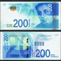ISRAEL - Billet de 200 Nouveaux Shekels - 2017