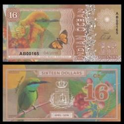 OCEAN INDIEN / INDIAN OCEAN - Billet de 16 DOLLARS - Guêpier d'Orient - 2018