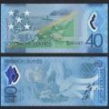 SALOMON (ILES) - Billet de 40 DOLLARS - POLYMER - 40 Ans de l'indépendance - 2018