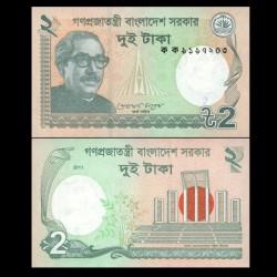 BANGLADESH - Billet de 2 Taka - 2011