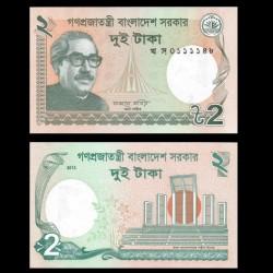 BANGLADESH - Billet de 2 Taka - 2013