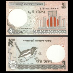BANGLADESH - Billet de 2 Taka - 2003