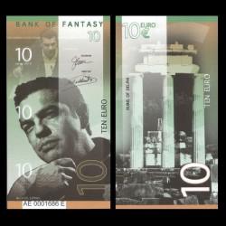 BANK OF FANTASY - BILLET DE 10 EURO - SERIE HOMMES POLITIQUES - ALEKSIS CIPRAS - 2018