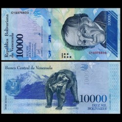 VENEZUELA - Billet de 10000 Bolivares - 13.12.2017 P98b
