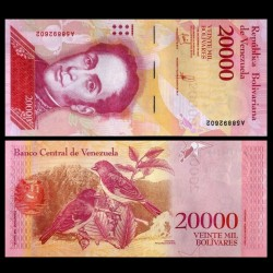 VENEZUELA - Billet de 20000 Bolivares - 13.12.2017 P99b1