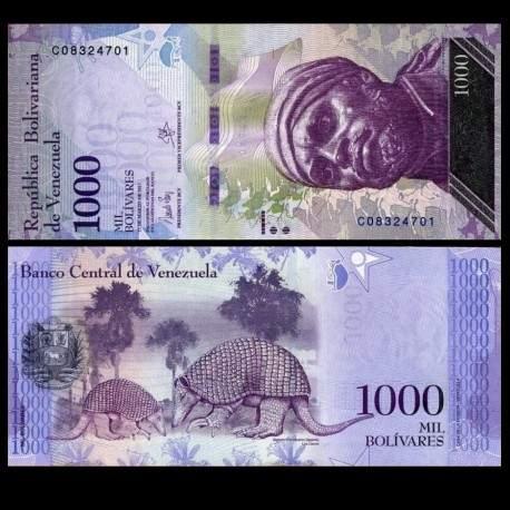VENEZUELA - Billet de 1000 Bolivares - 23.03.2017