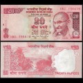 INDE - Billet de 20 Roupies - 2016