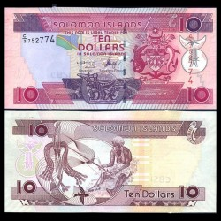 SALOMON (ILES) - Billet de 10 DOLLARS - 2006