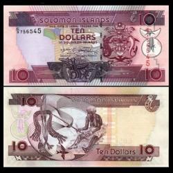 SALOMON (ILES) - Billet de 10 DOLLARS - 2009