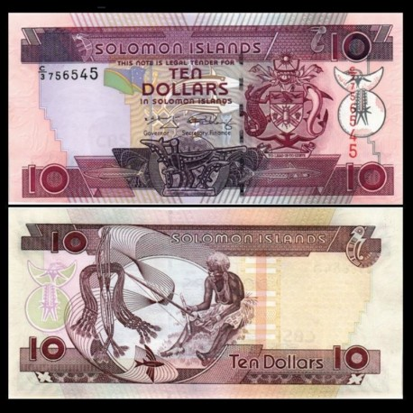 SALOMON (ILES) - Billet de 10 DOLLARS - 2009