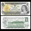 CANADA - Billet de 1 DOLLAR - Elizabeth II - 1973