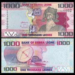 SIERRA LEONE - Billet de 1000 Leones - Bai Bureh - 04.08.2013 P30b