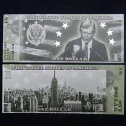 ETATS-UNIS - Billet de 1 Dollar - Serie Présidents : Jimmy Carter - 2018