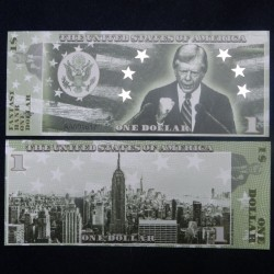 ETATS-UNIS - Billet de 1 Dollar - Serie Présidents: Jimmy Carter - 2018