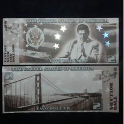 ETATS UNIS - Billet de 2 Dollars - Serie Présidents: Ronald Reagan - 2018