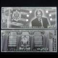 ETATS UNIS - Billet de 20 Dollars - Serie Présidents: George W Bush - 2018 USPresid20