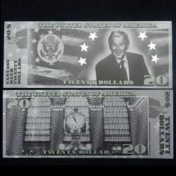 ETATS-UNIS - Billet de 20 Dollars - Serie Présidents: George W Bush - 2018