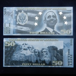 ETATS-UNIS - Billet de 50 Dollars - Serie Présidents: Barrack Obama - 2018