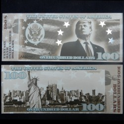 ETATS UNIS - Billet de 100 Dollars - Serie Présidents: Donald Trump - 2018