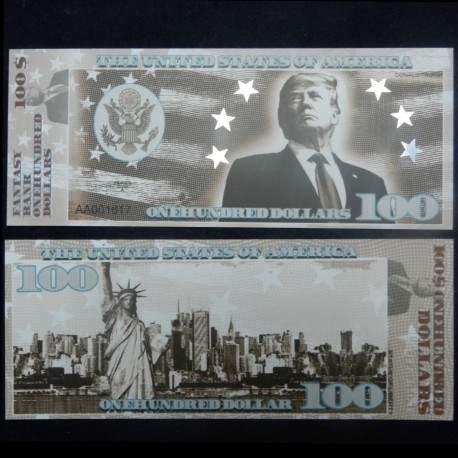 ETATS-UNIS - Billet de 100 Dollars - Serie Présidents: Donald Trump - 2018