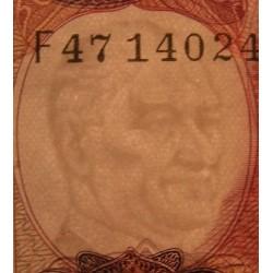 TURQUIE - Billet de 100 Livre turque - Mehmed Akif Ersoy - 1984 / 1989