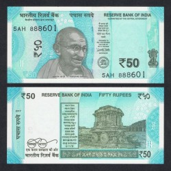 INDE - Billet de 50 Roupies - 2018