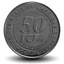 AFRIQUE CENTRALE / BEAC - PIECE de 50 FRANCS CFA - 2006