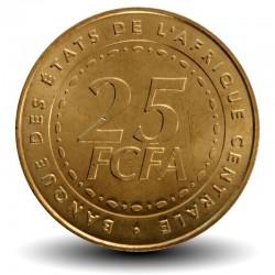 AFRIQUE CENTRALE / BEAC - PIECE de 25 FRANCS CFA - 2006