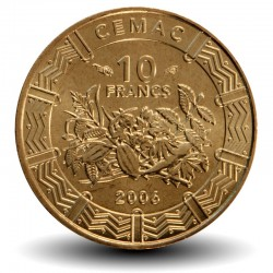 AFRIQUE CENTRALE / BEAC - PIECE de 10 FRANCS CFA - 2006