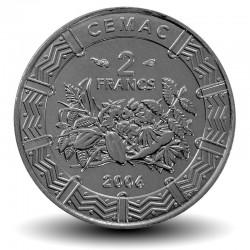 AFRIQUE CENTRALE / BEAC - PIECE de 2 FRANCS CFA - 2006