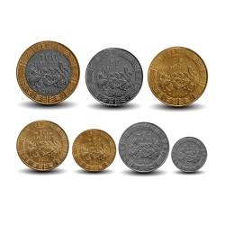 AFRIQUE CENTRALE / BEAC - SET / LOT de 7 PIECES de 1 2 5 10 25 50 100 FRANCS CFA - 2006